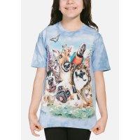 Tier Kinder T-Shirt Pet Selfie, 24,90  - The Mountain ...