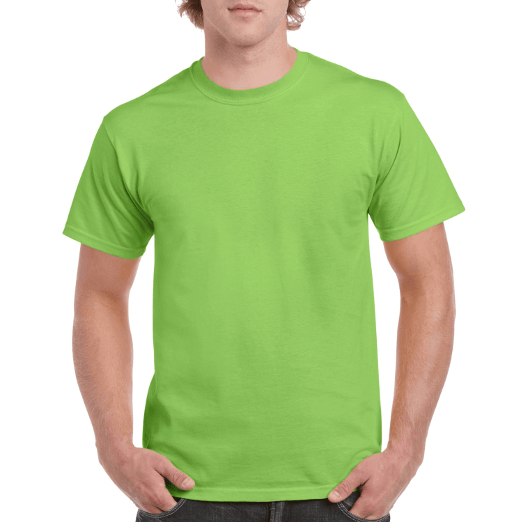 Short Sleeve T-Shirt Lime Green
