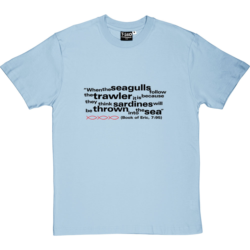 Add a wonderful accent to your room and office with these posters that are sure to brighten. Eric Cantona Seagulls And Sardines Quote T Shirt Tshirtsunited