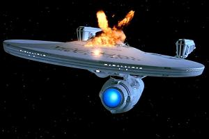 The end of the Starship Enterprise