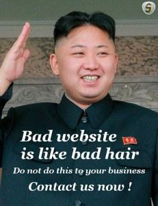 Kim Jong Un hates your website