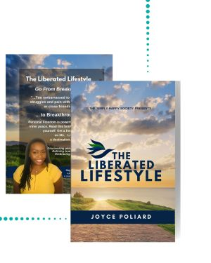 book cover for the liberated lifestyle
