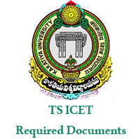 TS ICET Required Documents