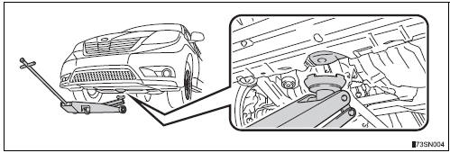 Toyota Sienna 2010-2020 Owners Manual: Positioning a floor