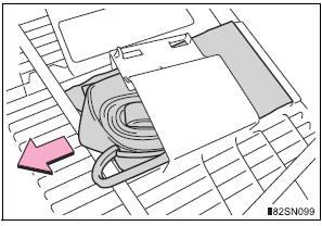 Toyota Sienna Spare Tire Location
