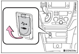 Toyota Sienna 2010-2020 Owners Manual: AUX Port/USB Port