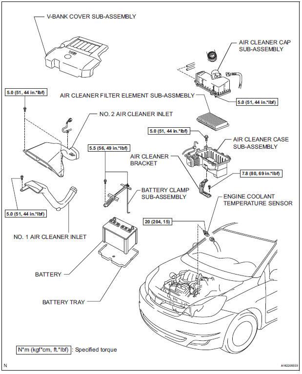 toyota engine coolant temperature sensor