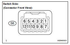 Toyota Sienna Service Manual: Transmission Range Sensor
