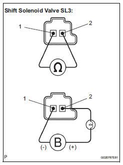 Toyota Sienna Service Manual: Pressure Control Solenoid