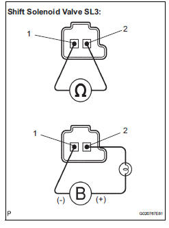 Toyota Sienna Service Manual: Pressure Control Solenoid