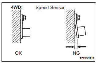 Toyota Sienna Service Manual: Right Rear Wheel Speed
