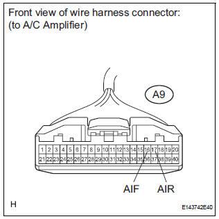 Toyota Sienna Service Manual: Air Inlet Damper Control