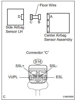 Toyota Sienna Service Manual: Side Airbag Sensor Assembly
