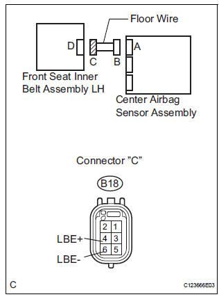 Toyota Sienna Service Manual: Seat Belt Buckle Switch LH