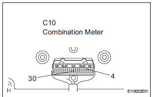 Toyota Sienna Service Manual: Security Indicator Light