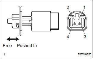 Toyota Sienna Service Manual: Brake Switch
