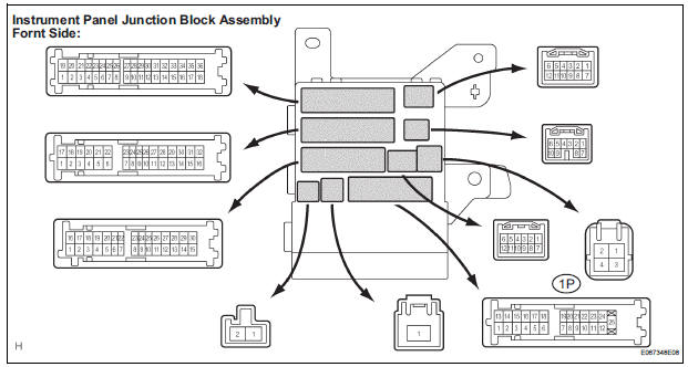 Toyota Sienna Service Manual: Door LOCK Position Circuit
