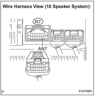 Toyota Sienna Service Manual: Radio Broadcast cannot be