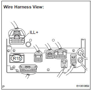 Toyota Sienna Service Manual: Illumination Circuit