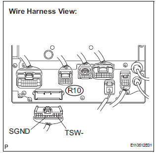 Toyota Sienna Service Manual: Microphone Circuit between