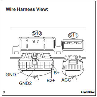 Toyota Sienna Service Manual: Stereo Component Amplifier