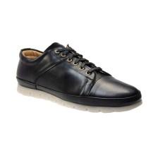 Tsimpolis Shoes A1 Casual Ανδρικό Απο Τεχνόδερμα Μαύρο
