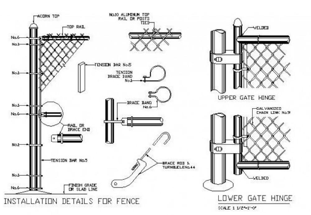 Fence Metal Hardware