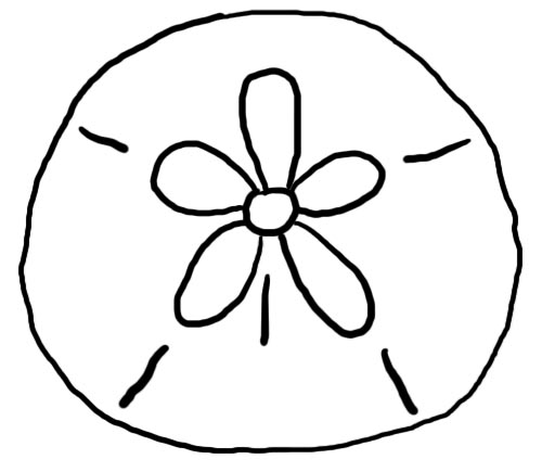 Sand Dollar Template Printable