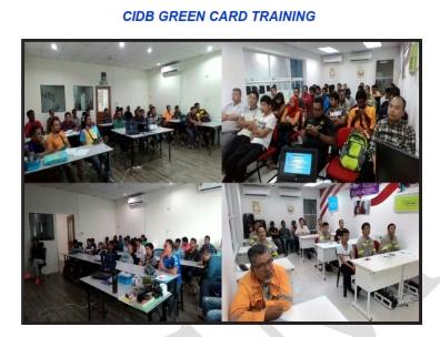 CIDB GREEN CARD 1