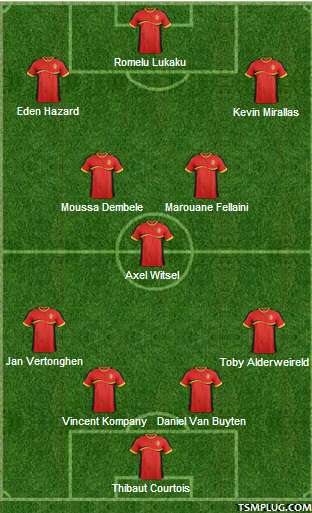 Belgium coach roberto martinez resisted an overhaul of his aging squad as he named 31 players. Belgium Team Squad 2014 World Cup (Starting Line-up)