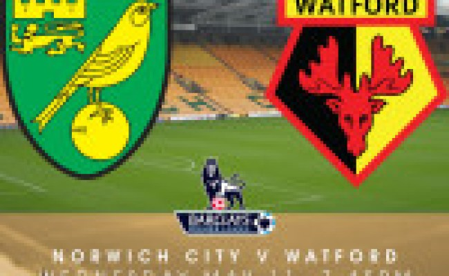 Norwich City Vs Watford Match Preview 11th May Streaming