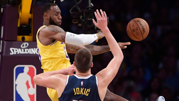Image result for Le Bron and Jokic
