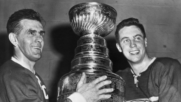 Maurice Richard and Jean Beliveau