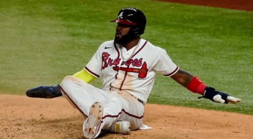Marcell Ozuna mishap costs Atlanta Braves as World Series wait continues -  TSN.ca