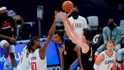 Aleksej Pokusevski scores 29, Oklahoma City Thunder top Los Angeles Clippers  in season finale - TSN.ca