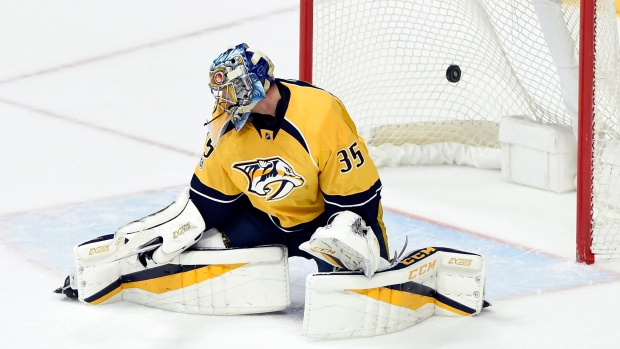 Image result for pekka rinne home record playoffs