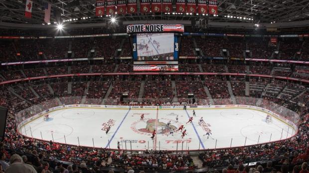 Senators remove 1500 seats from arena  Article  TSN