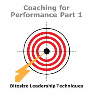 Bitesize Leadership Techniques – Coaching for Performance Part 1
