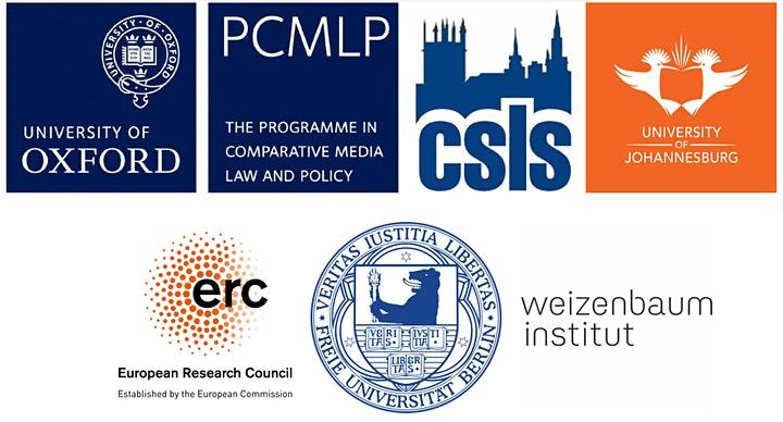 Oxford-UJ Global Media Policy Seminar Series graphic