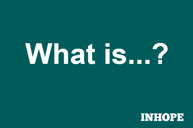 """green inhope graphic saying """"what is..?"""""""