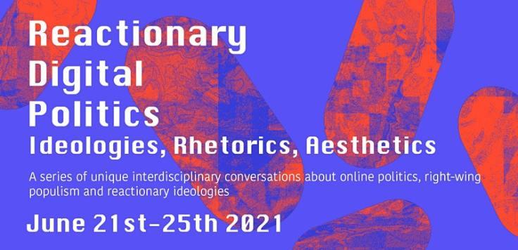Reactionary digital politics event image