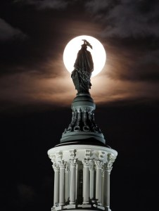 Washington DC Supermoon