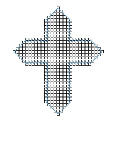 3D Cross Magnet