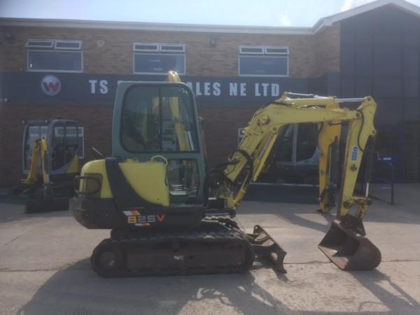 Yanmar B25V Mini Excavator