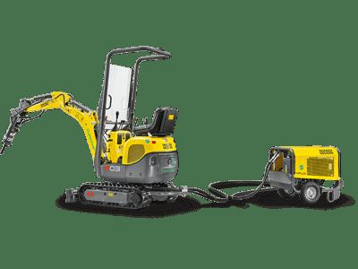 Wacker Neuson 803 Dual Power