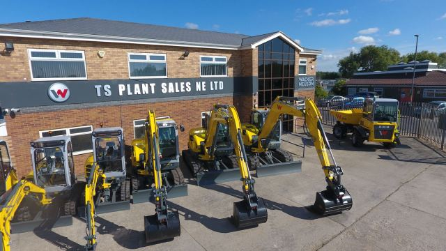 TS Plant Sales yard and equipment