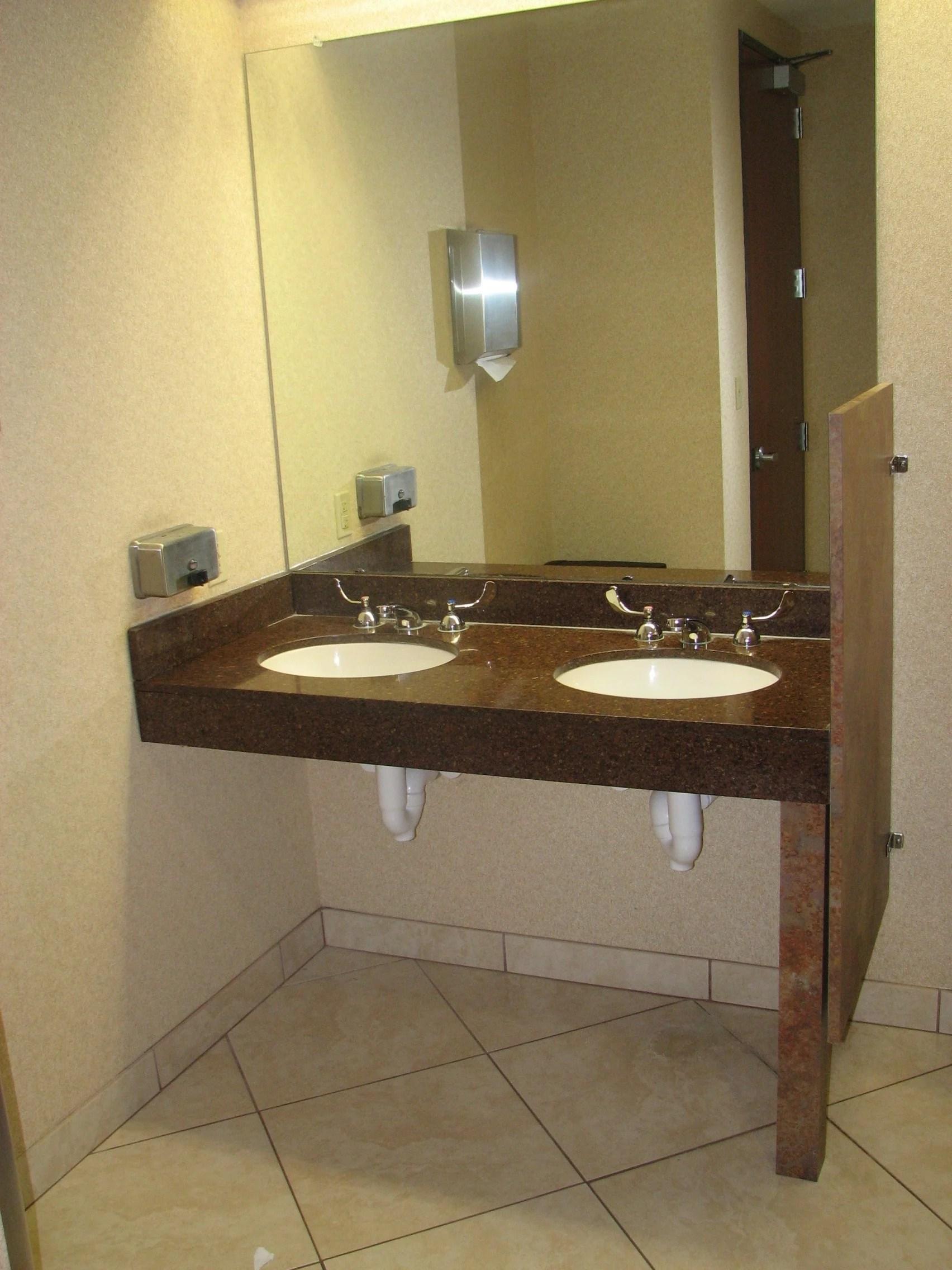 ada vanity height