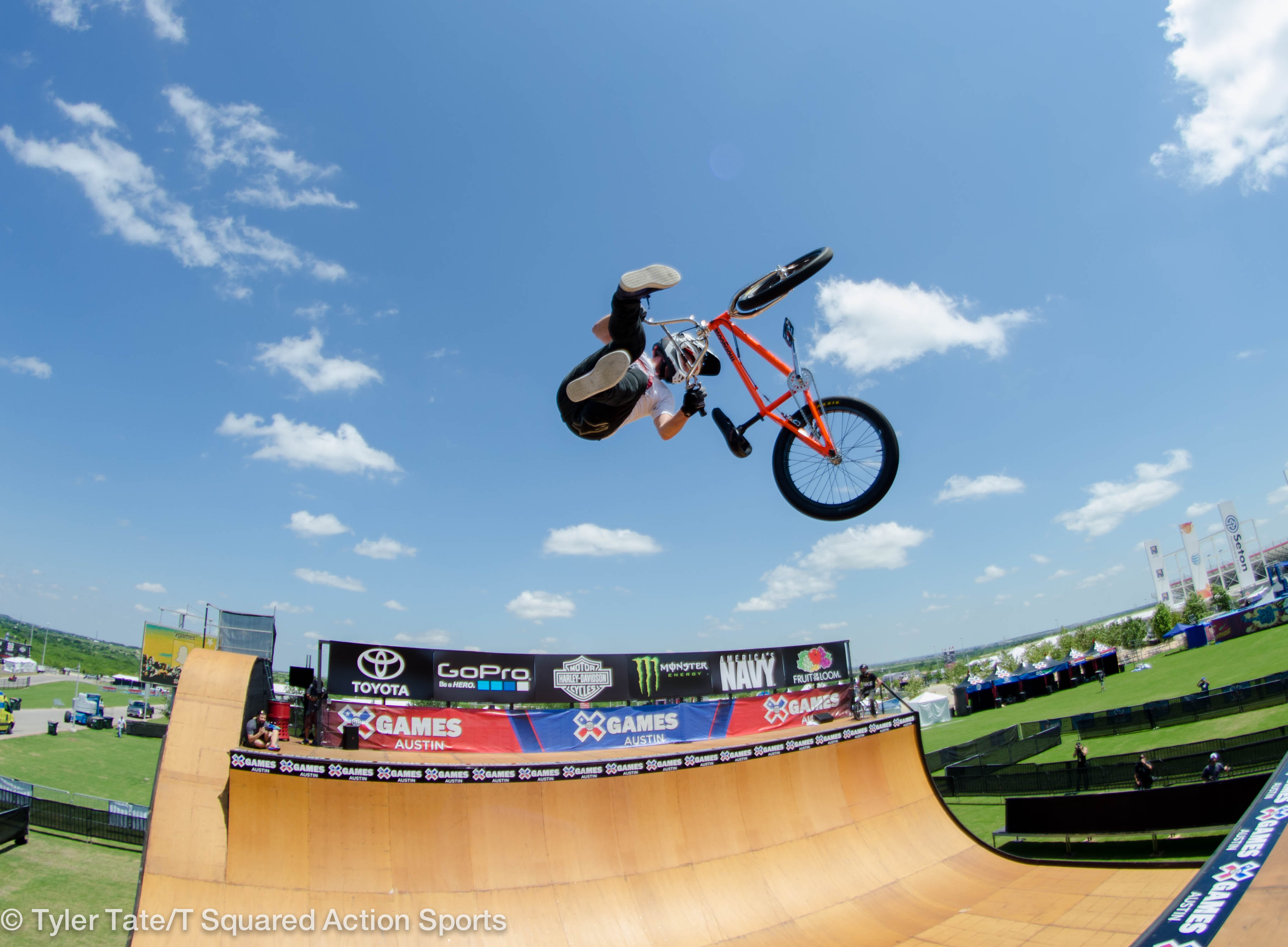 Steve McCann X Games Austin 2015 BMX Vert – T Squared Action Sports