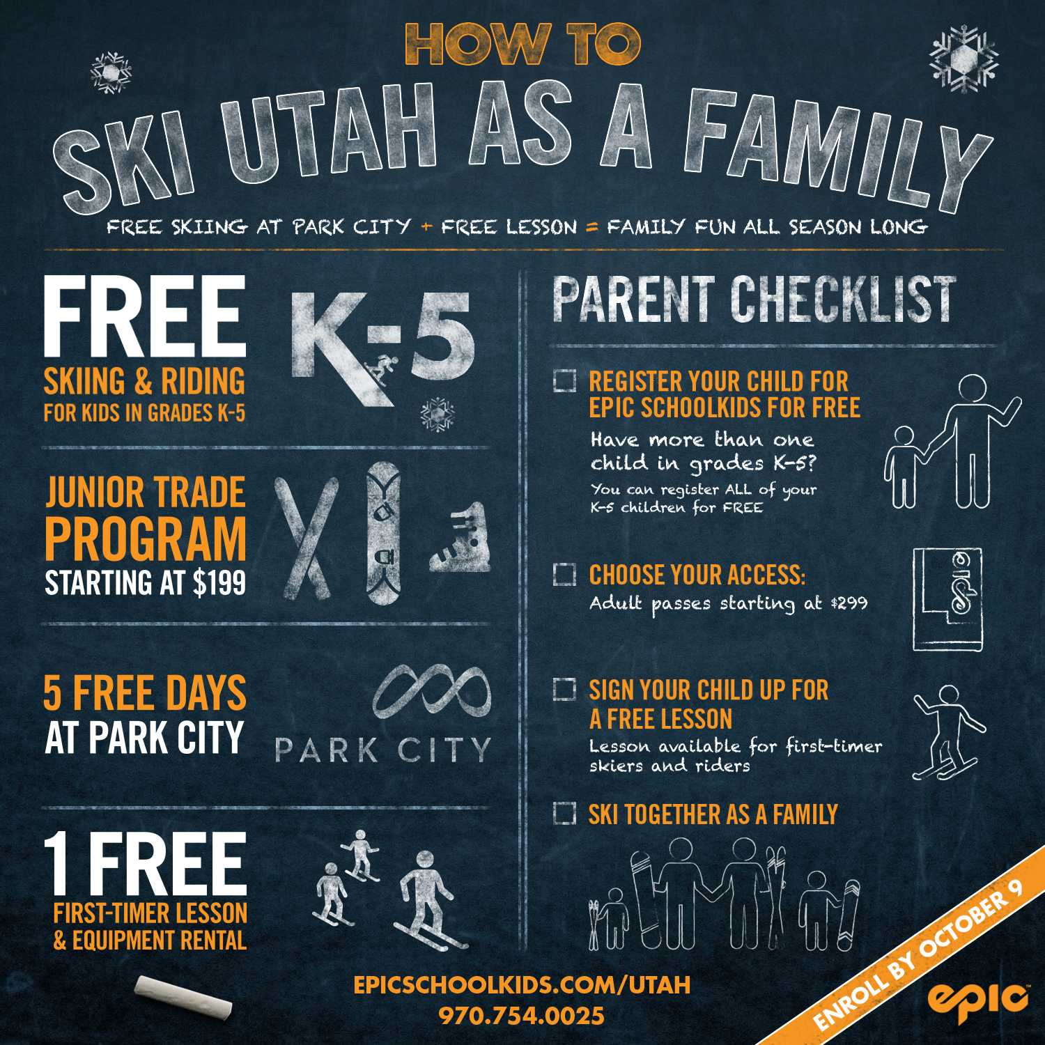 Last Chance for Utah Kids to Ski Free During the 2016-2017