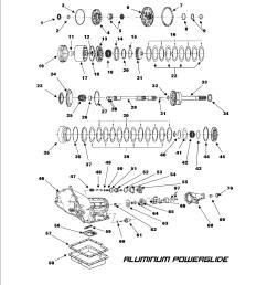 powerglide transmission diagram speedometer [ 1275 x 1650 Pixel ]